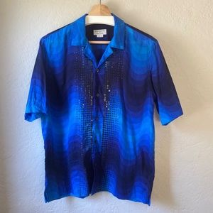 SS19 Dries Verner Panton Sequin Shirt size 48